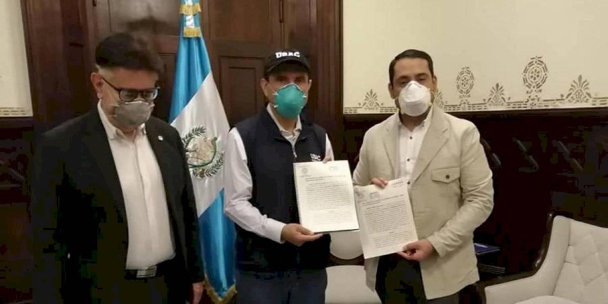 Covid-19: USAC presenta iniciativa para resarcir a trabajadores de Salud que resulten contagiados