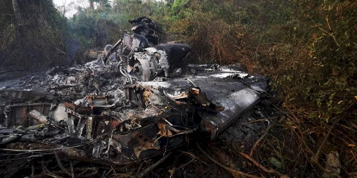 Aeronave se accidenta en La Libertad, Petén Ejército