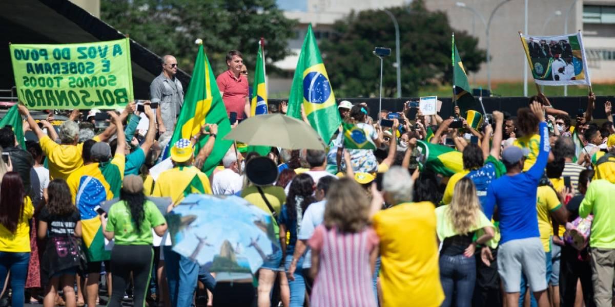 Bolsonaro y sus simpatizantes vuelven a desafiar al coronavirus en multitudinaria marcha