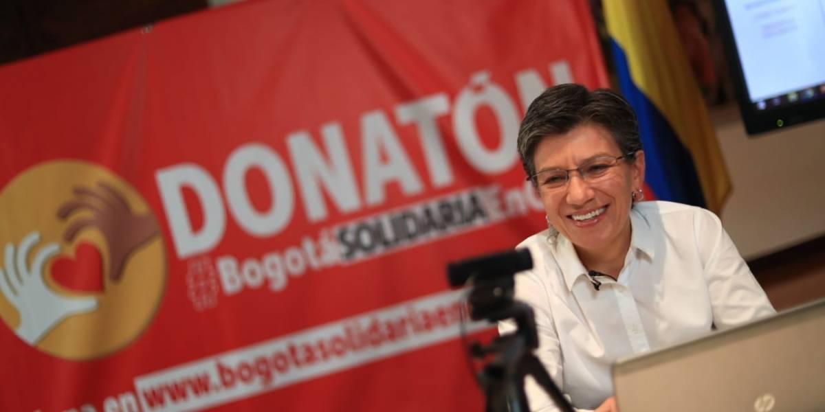 La millonaria cifra con la que los bogotanos apoyaron la Donatón por Bogotá