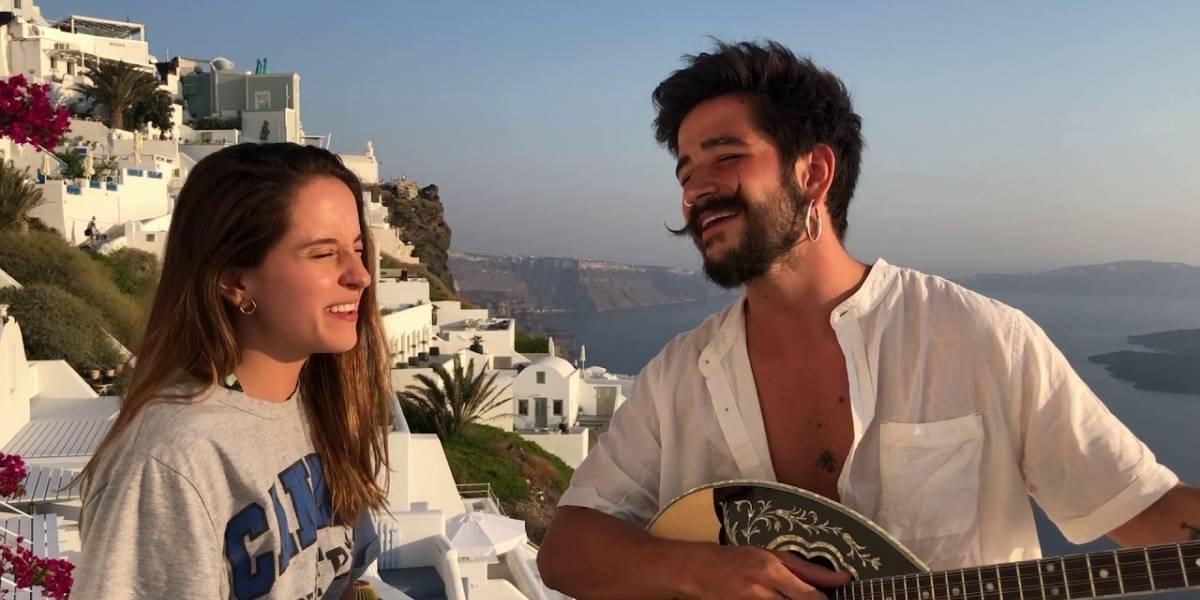Camilo obliga a Evaluna a cantar sus canciones y es criticado