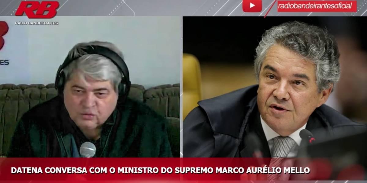 Eleição municipal em outubro seria inviável, diz ministro Marco Aurélio Mello