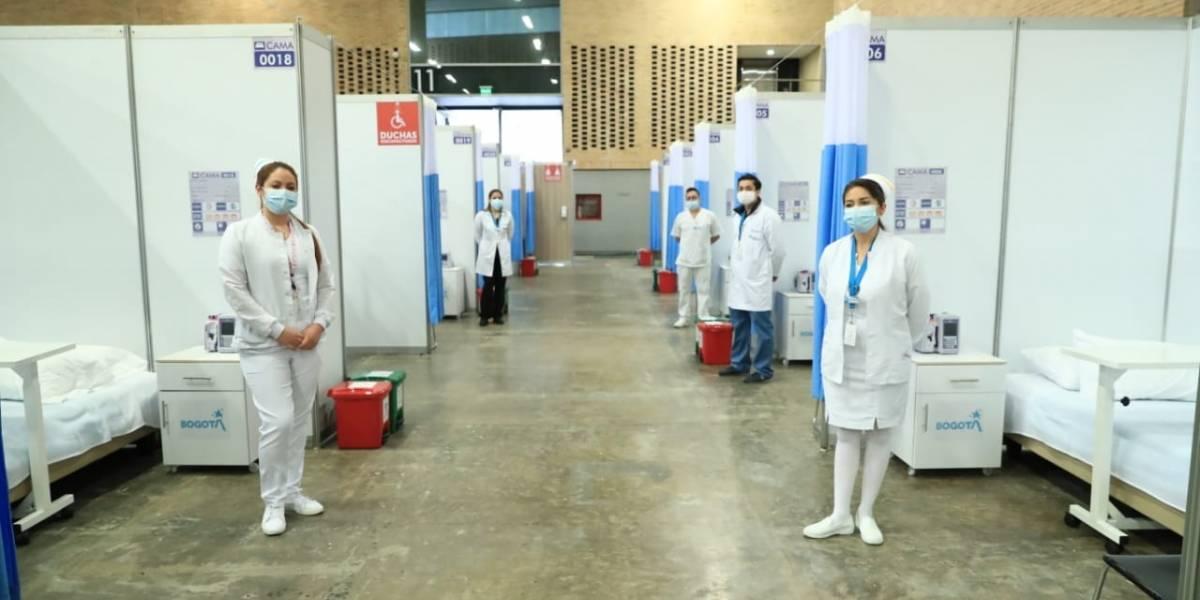 Claudia López anuncia apertura del centro hospitalario transitorio de Corferias