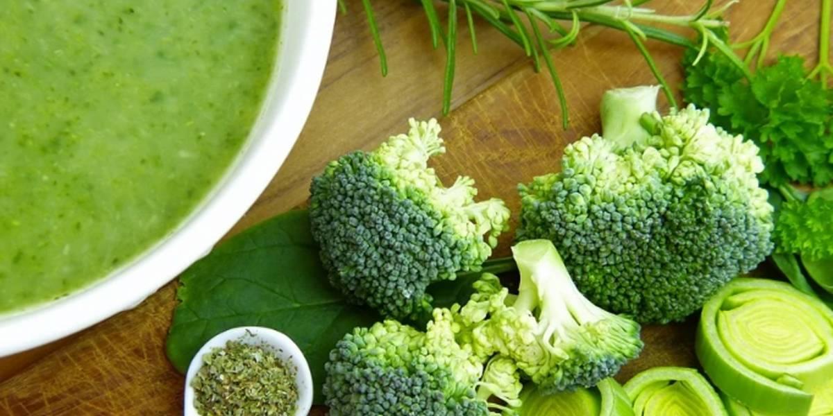 Esta es la receta de la crema de brócoli para que puedas disfrutar sus beneficios