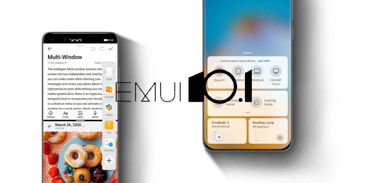 Huawei libera la lista oficial de modelos internacionales que recibirán EMUI 10.1