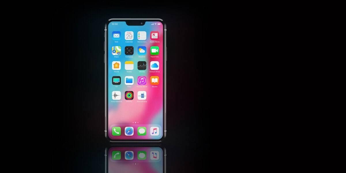 iPhone 12 Pro luciría así de su cara frontal con un notch mínimo