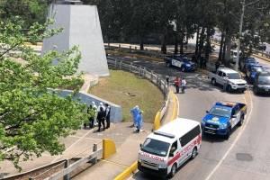operativo por paciente con Covid-19 en puente Tecún Umán