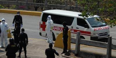 operativo de salud bajo puente Tecún Umán