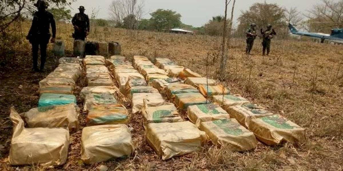 Incautan droga valorada por más de $36 millones durante estado de Calamidad
