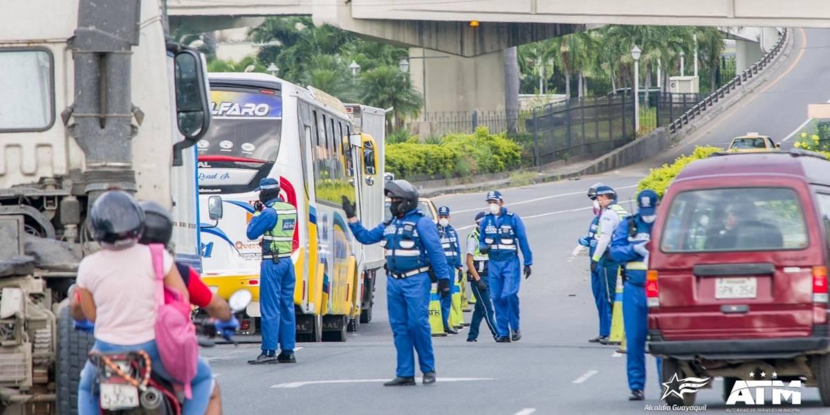 ATM lamenta denso tráfico en puente de la Unidad Nacional