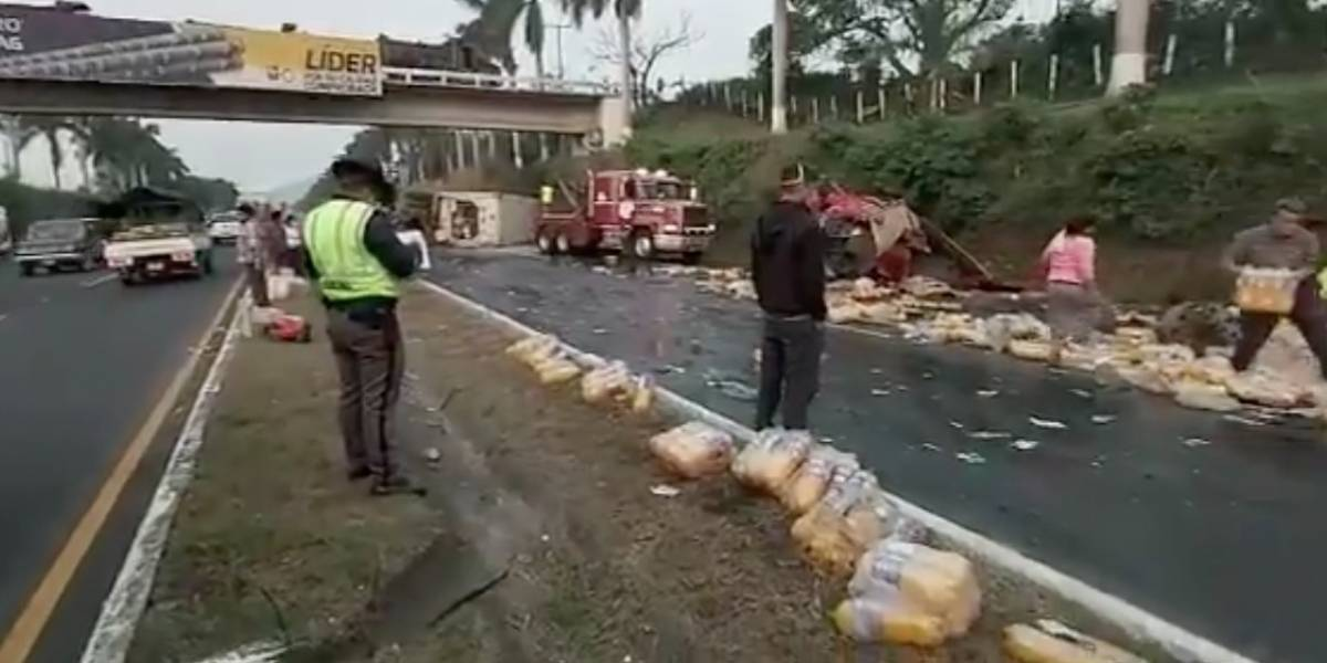 Habilitan carril reversible en autopista Palín-Escuintla tras accidente