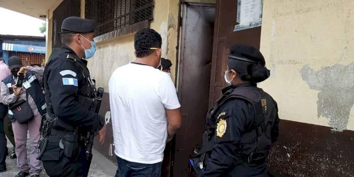 Supuesto narcotraficante requerido por EE. UU. es capturado en Escuintla