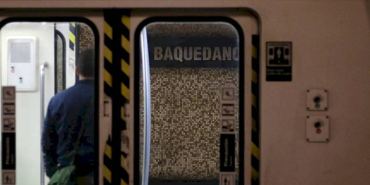A partir de este lunes: estación Baquedano comenzará a funcionar con ingreso y salida de pasajeros