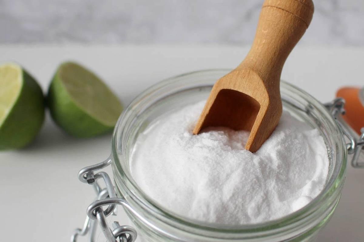 Aspirar con bicarbonato de sodio