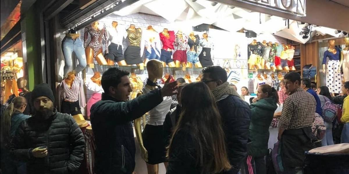 Según encuesta, una cuarta parte de los comerciantes en Bogotá está pensando en cerrar