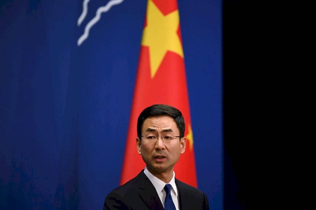 Geng Shuang, portavoz del ministerio chino de Relaciones Exteriores