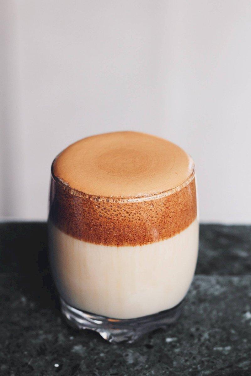 Café espumoso dalgona
