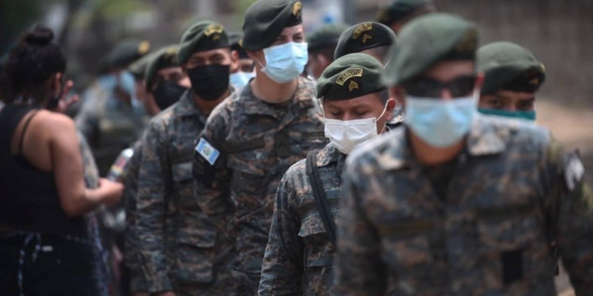 Elemento del Ejército se recupera de coronavirus
