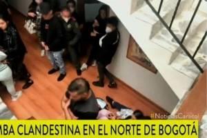 Revelan imágenes de fiesta clandestina con más de 40 personas en el norte de Bogotá
