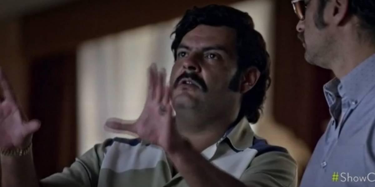 Actor de 'El general Naranjo' sufrió ataques de ansiedad por interpretar a Pablo Escobar