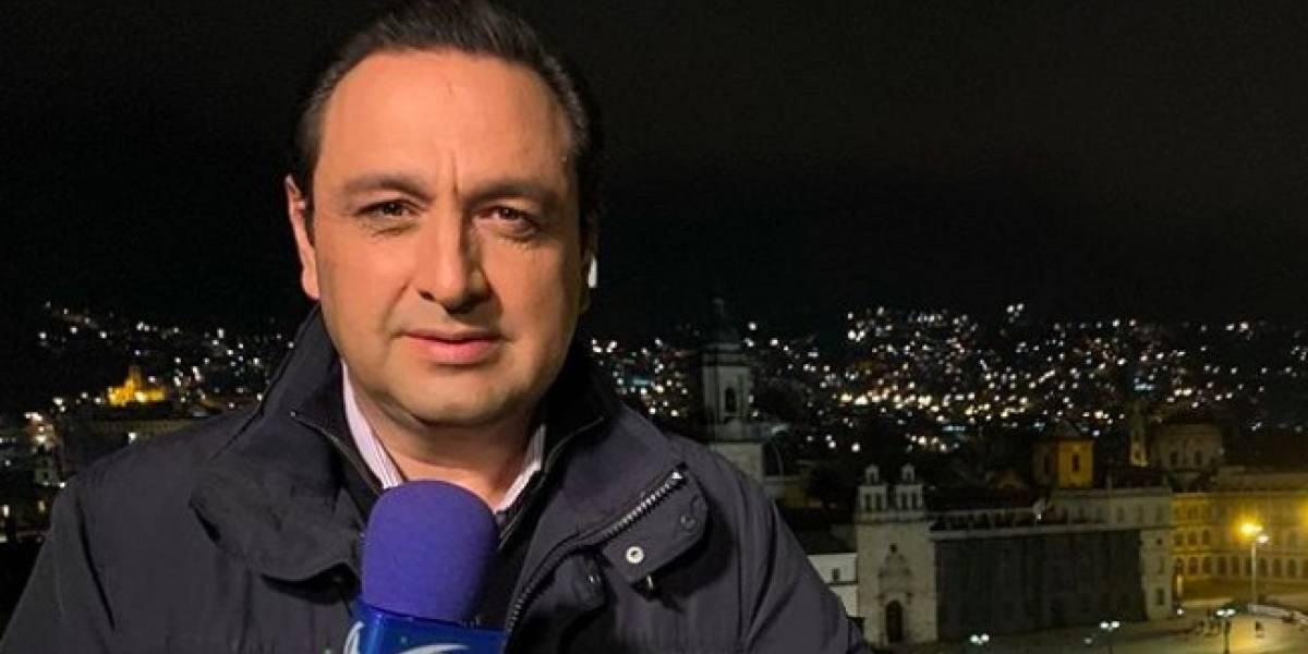 """Lo que """"esconde"""" Jorge Alfredo Vargas cuando presenta 'Noticias Caracol' desde su casa"""