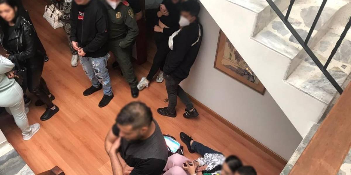 Dejan libres a 39 de los capturados en fiesta clandestina en el norte de Bogotá