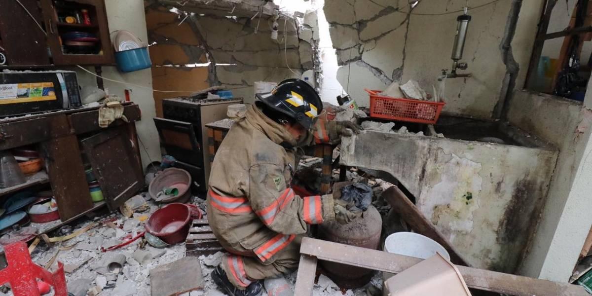 Explosión en zona 7 deja una persona con quemaduras