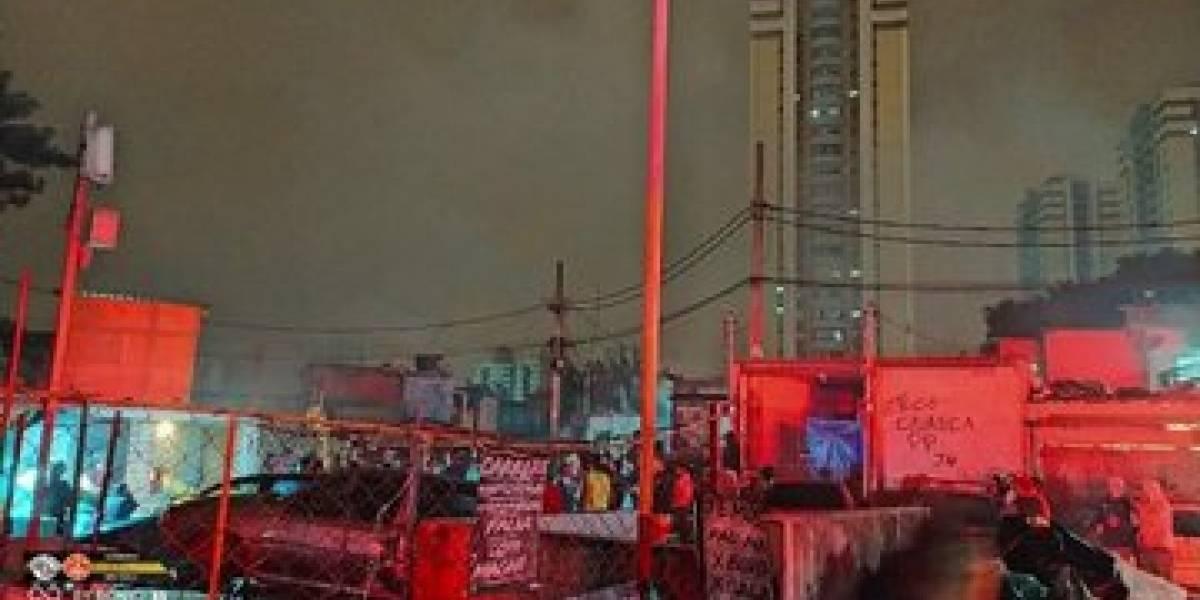Incêndios atingem comunidade e galpão de recicláveis em SP