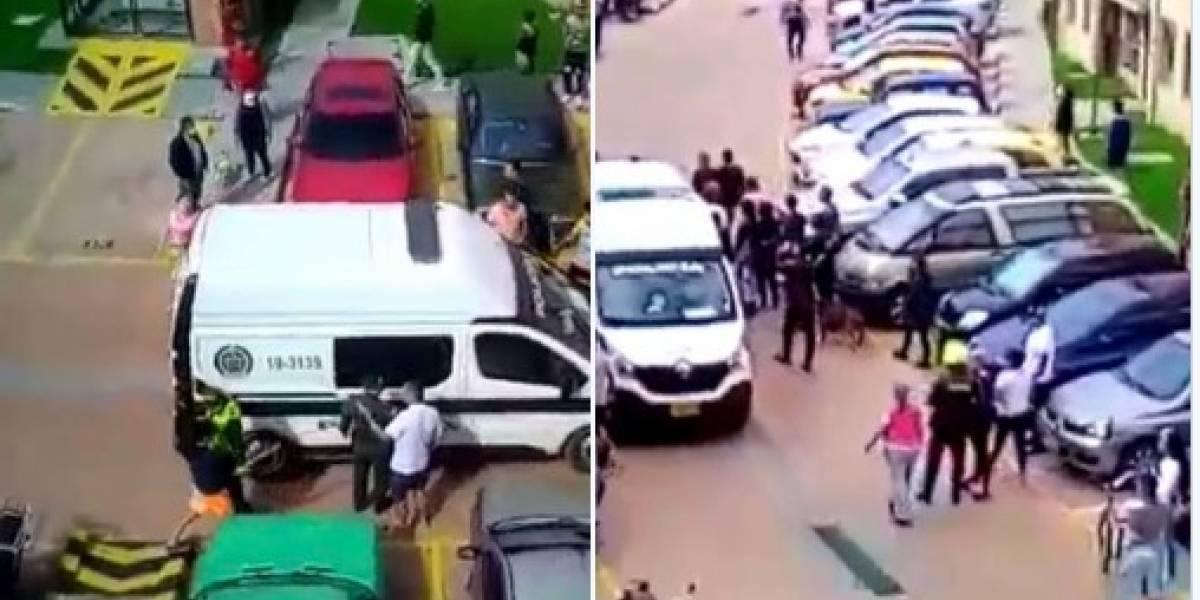 Denuncian que joven fue brutalmente agredido por la Policía en Soacha