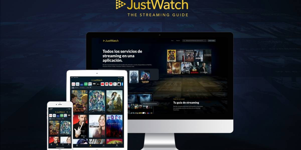 JustWatch: la guía para todos los servicios de streaming llega a Chile
