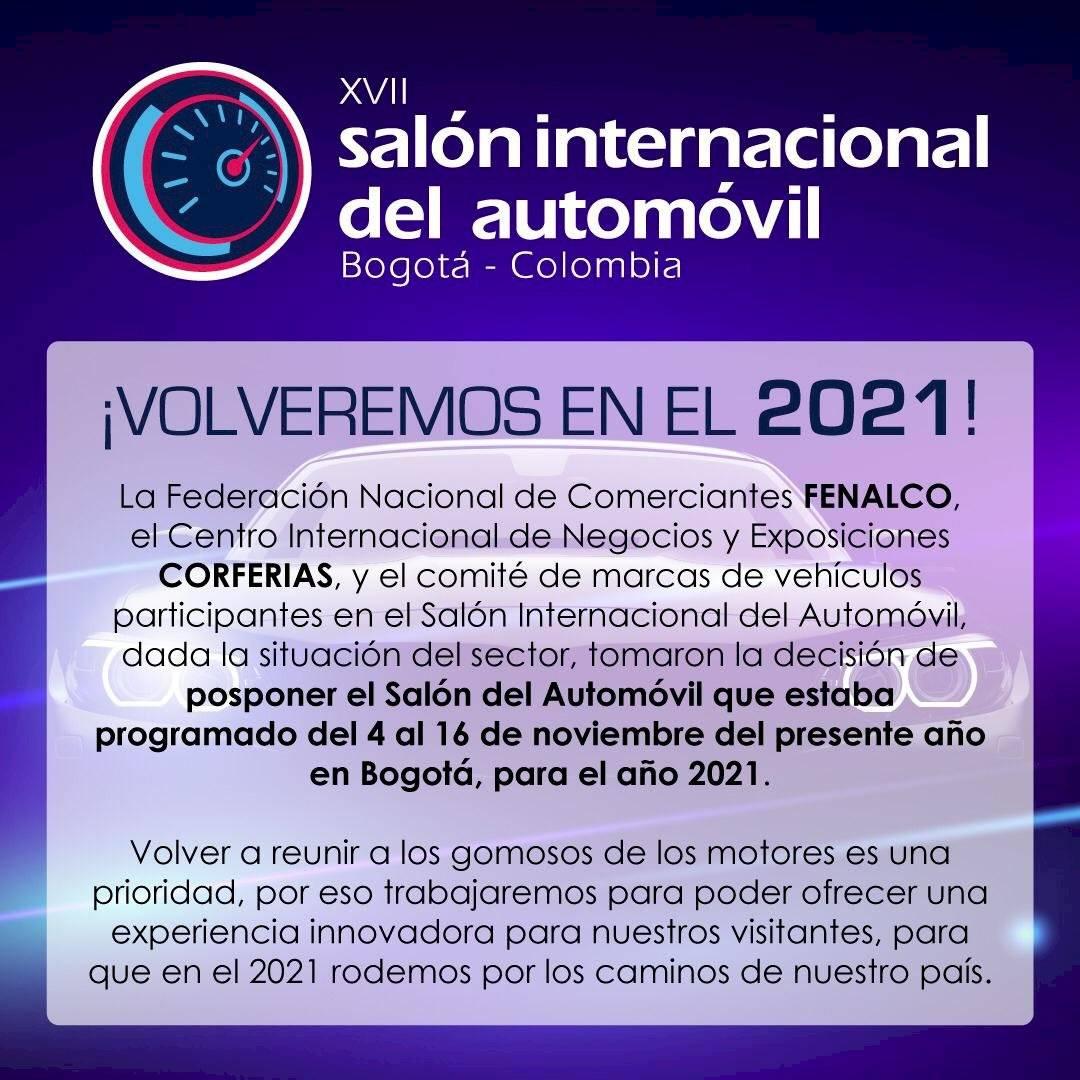 Salón del Automóvil de Bogotá 2020