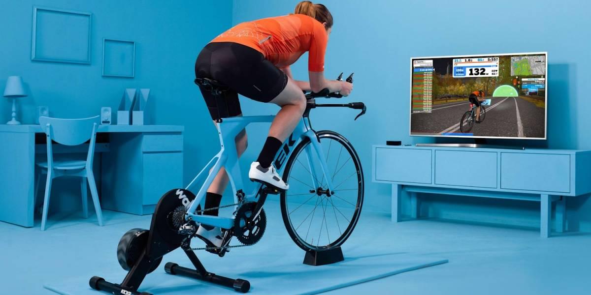 El ciclismo continúa virtual y sobre rodillos
