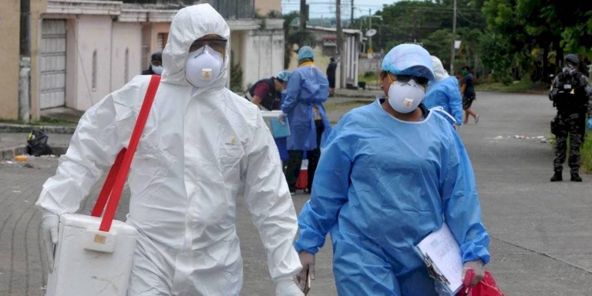 Casos de coronavirus se duplican en Ecuador; superan los 22 mil