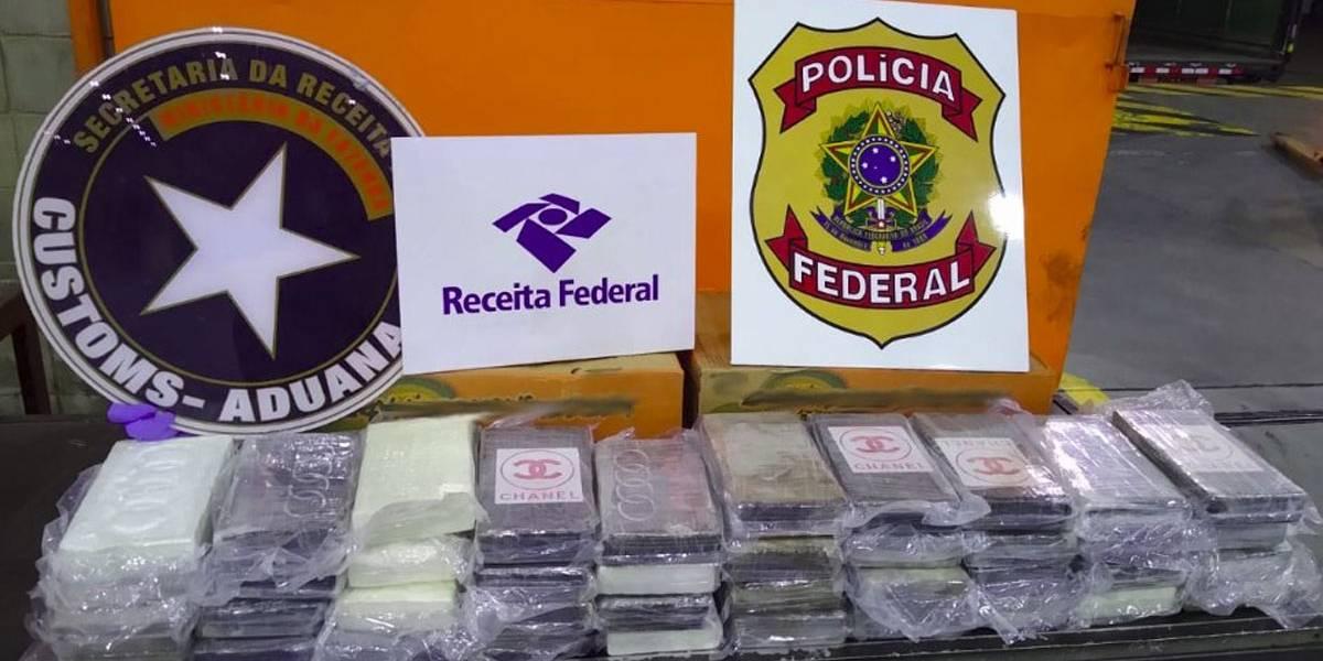 Carga de maracujá fresco para Hong Kong escondia 44 kg de cocaína pura