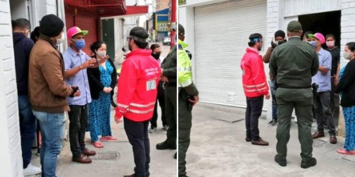 Distrito impide desalojo de 25 personas en el centro de Bogotá