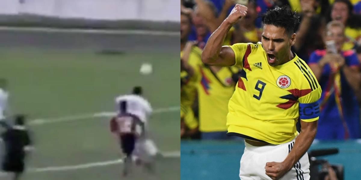 VIDEO   ¿Lo recuerda? Se cumplen 20 años del primer gol de Falcao García como profesional
