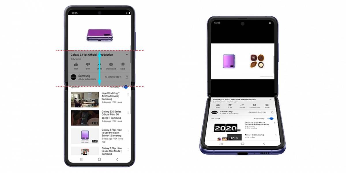 Tecnologia: Aplicativo do YouTube ganha otimização para Samsung Galaxy Z Flip
