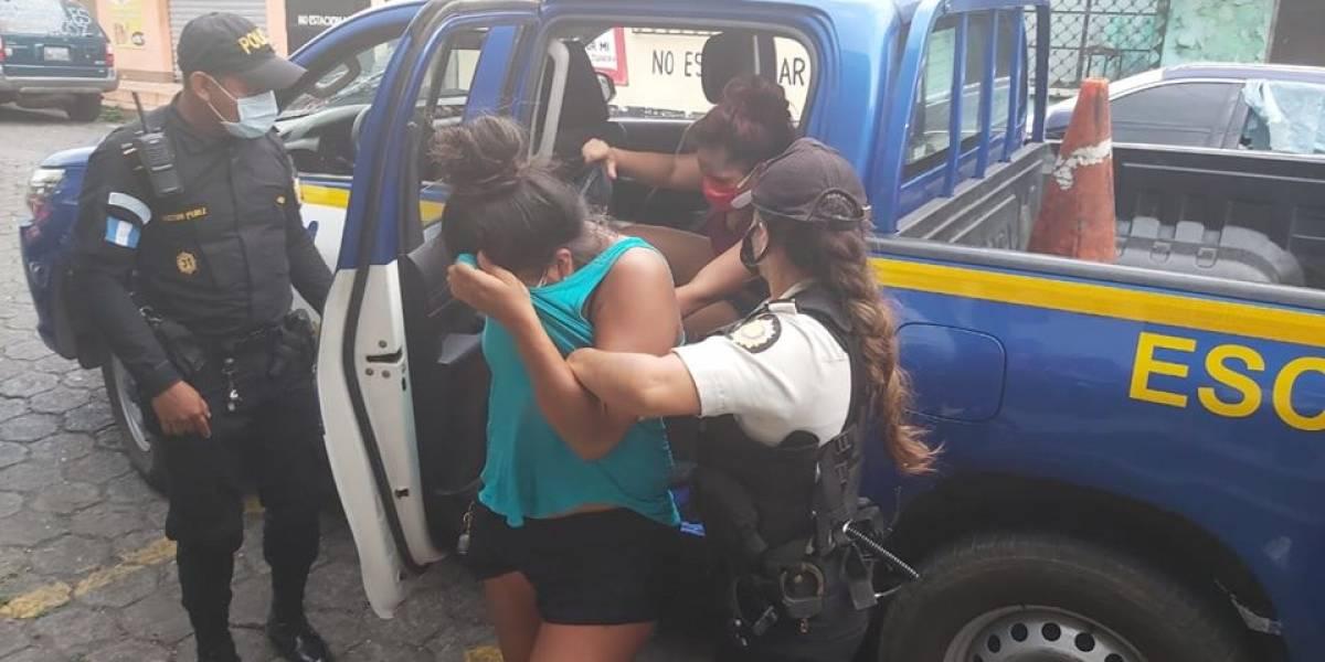 Hermanos capturados en toque de queda en Escuintla disparan contra PNC