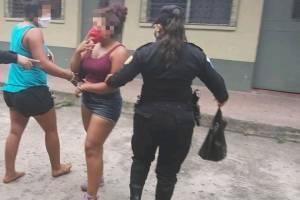 hermanos capturados en Escuintla durante toque de queda