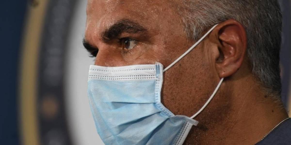 Secretario de Salud da negativo a prueba del coronavirus