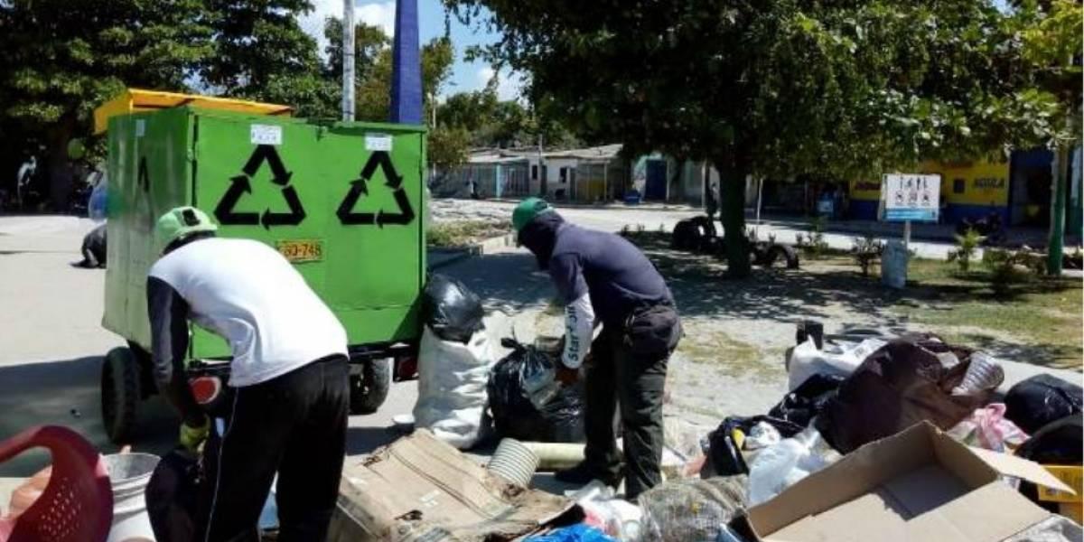 Entregarán 1100 bonos de mercado a 300 recicladores en la costa Caribe
