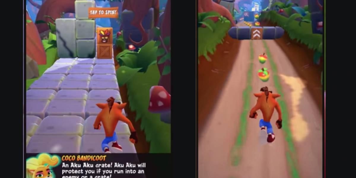 Crash Bandicoot Mobile aparece por sorpresa en Android