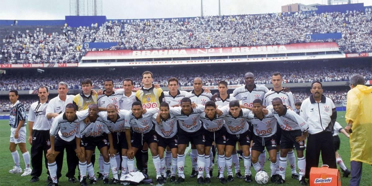 Band exibe final do Brasileirão de 1998 entre Corinthians e Cruzeiro