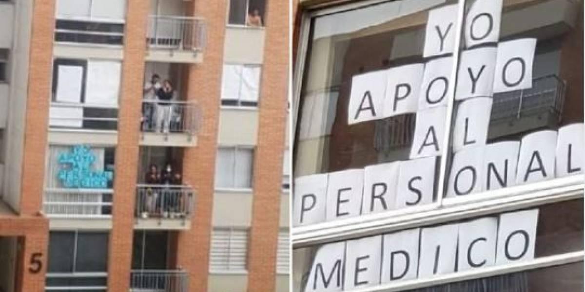 Médico amenazado de muerte fue recibido con aplausos por sus vecinos