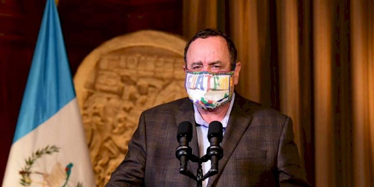 VIDEO. Alejandro Giammattei confirma 46 nuevos casos de coronavirus