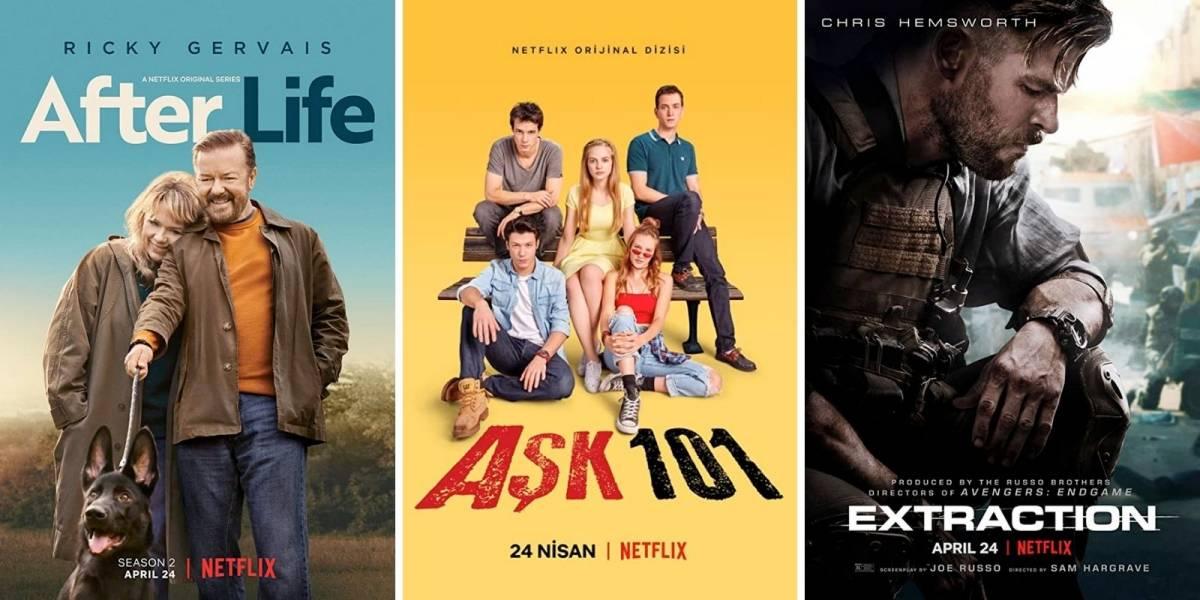 Netflix: confira as 3 melhores estreias desta sexta-feira, 24 de abril