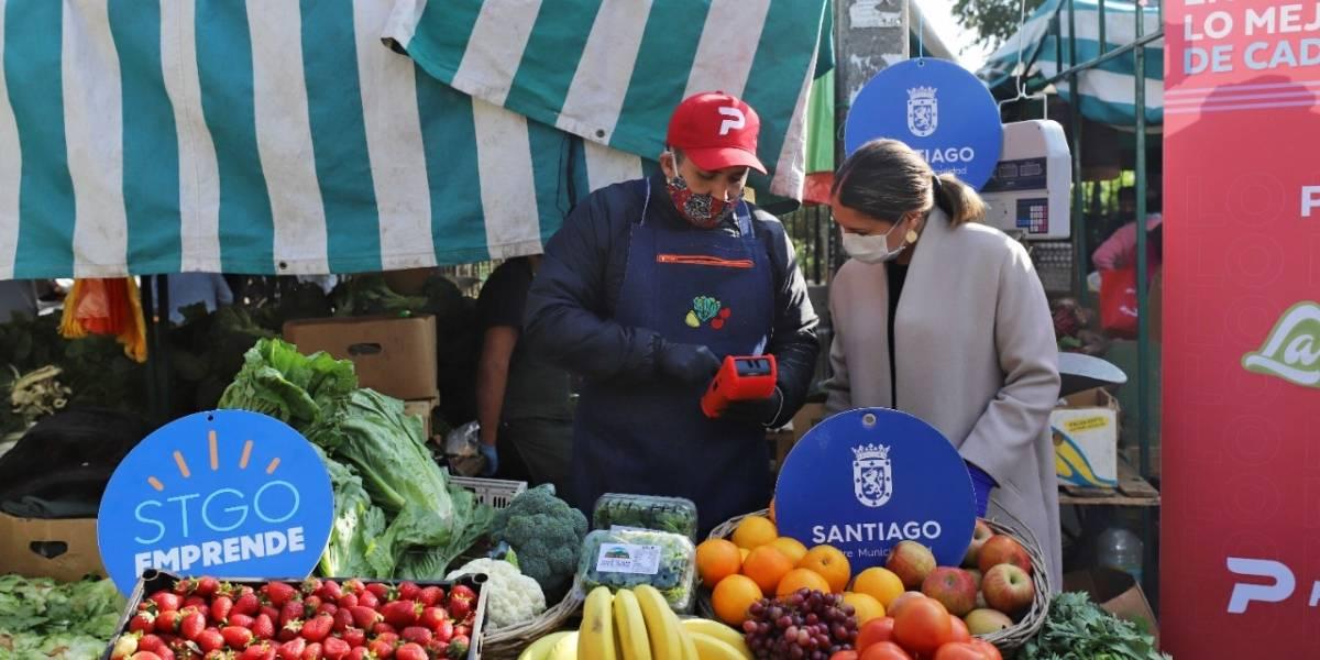 Comer sano y con delivery: aplicación vincula a los vecinos con 6 ferias libres del centro capitalino