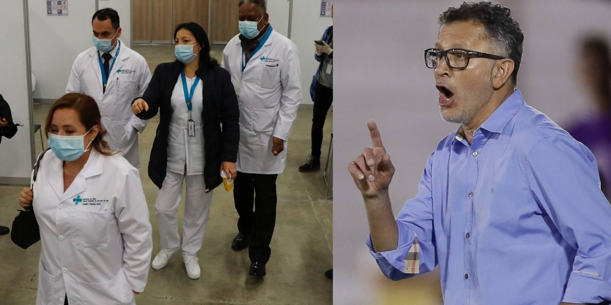 Contundentes frases de Osorio sobre los salarios de los futbolistas y médicos que muchos aplauden
