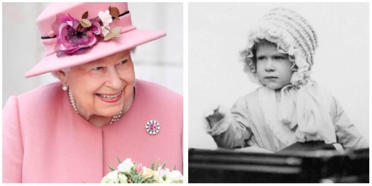 VIDEO. ¡Ternurita! Así fue la reina Isabel en su infancia