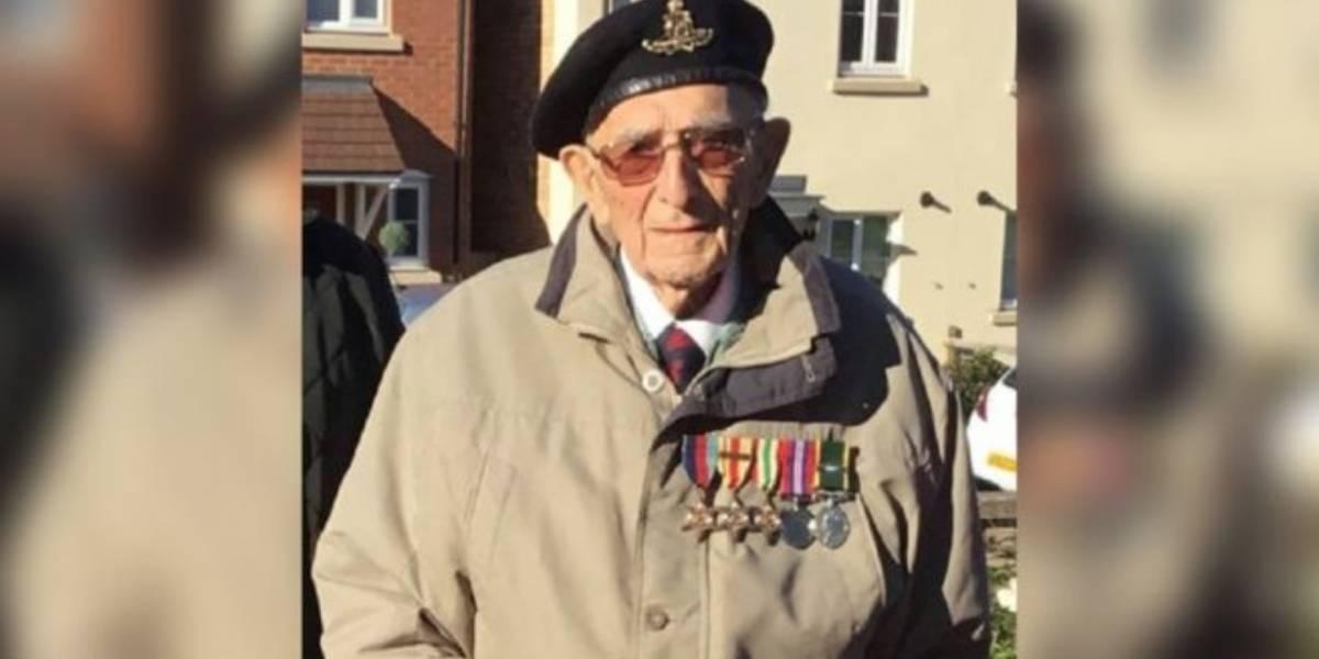 ¡Ejemplo de resistencia! Soldado de la Segunda Guerra Mundial vence la Covid-19 con casi 100 años